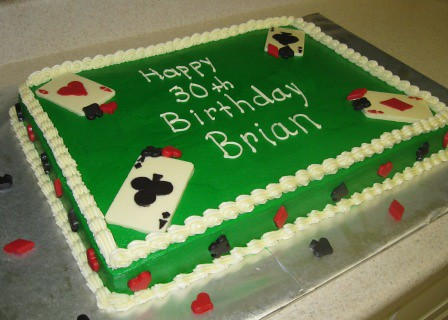 Poker Cake Flickr Photo Sharing