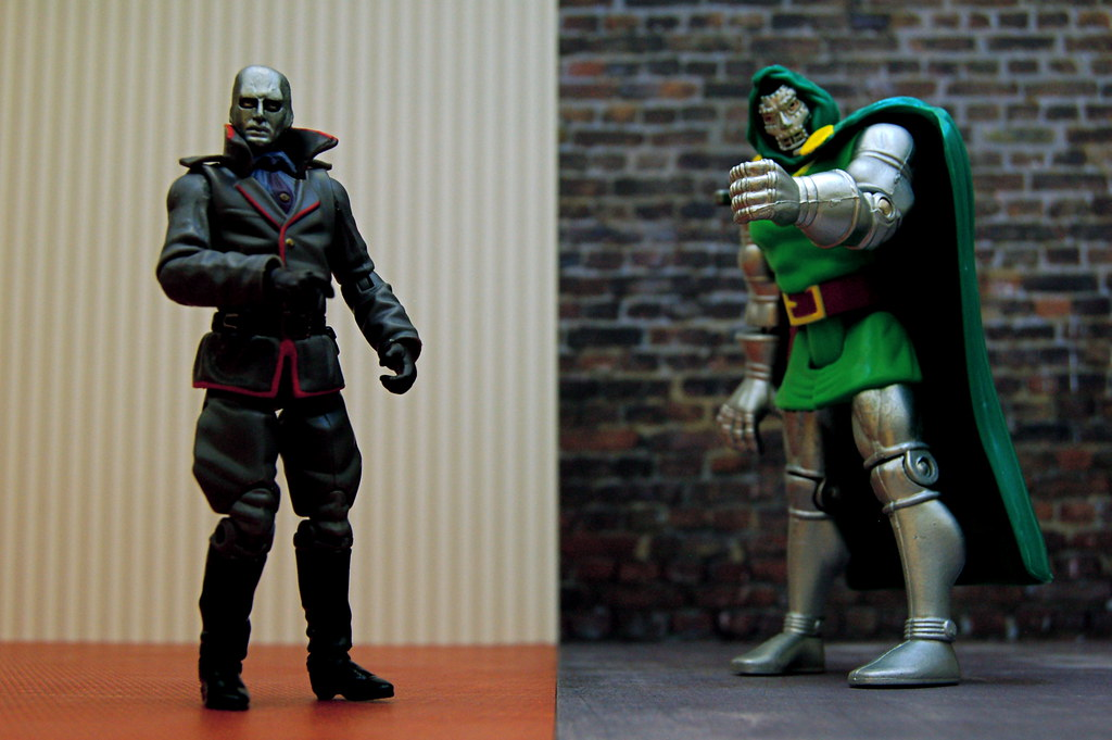 Destro vs. Doctor Doom (102/365)