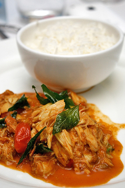 Kakuluwo: blue crab curry with coconut and rice. Sri Lanka… | Flickr ...