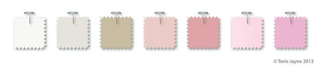 Pink Dreams colour palette