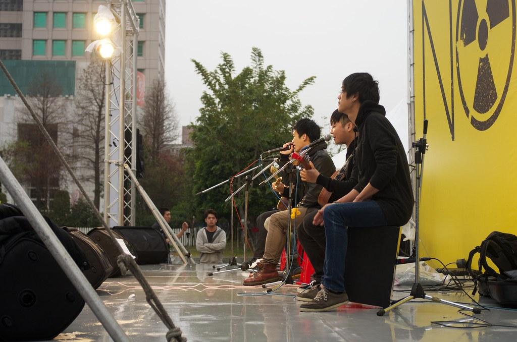 台中308反核遊行