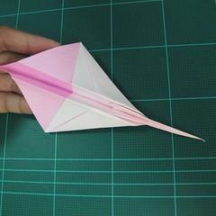 วิธีพับกระดาษเป็นรูปเครื่องบินแบบบินไกล (SST Origami Airplane) 014