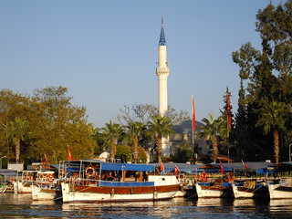 Dalyan's mosque