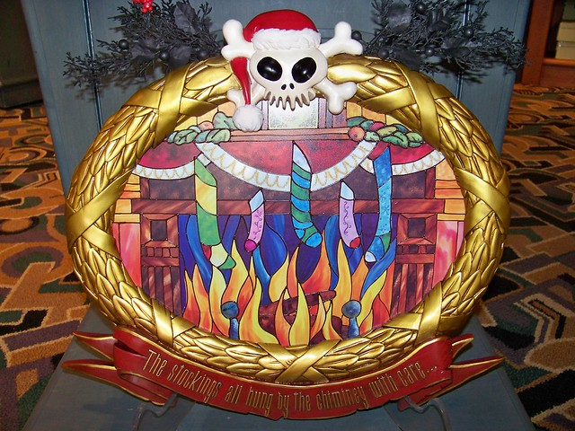 Haunted Mansion Holiday Stained Glass Window For Sale At