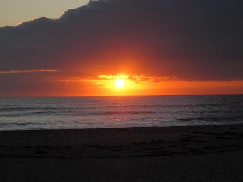 beach sunrise cocoabeach