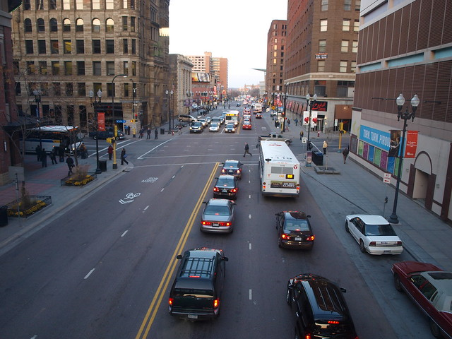 Hennepin Avenue as a Two-Way Street