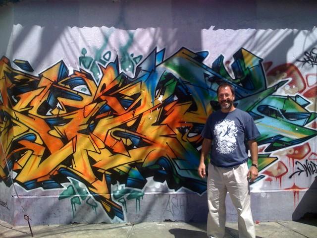 Graffiti in Cochabamba, Bolivia