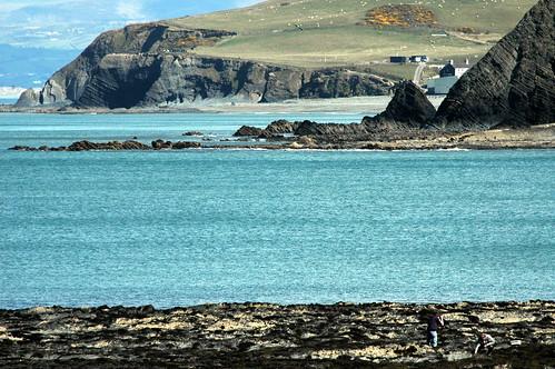 The beautiful Sea of Aberystwyth.