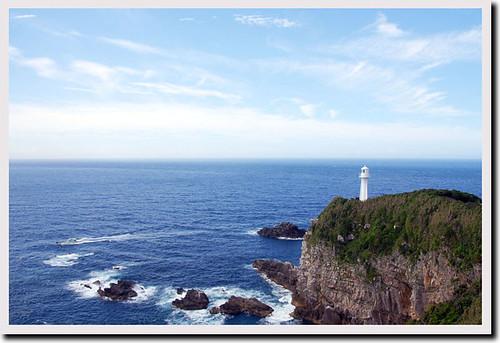 jamesbond 20090713 日本の灯台50選 足摺岬の灯台 高知県 yokohamanote