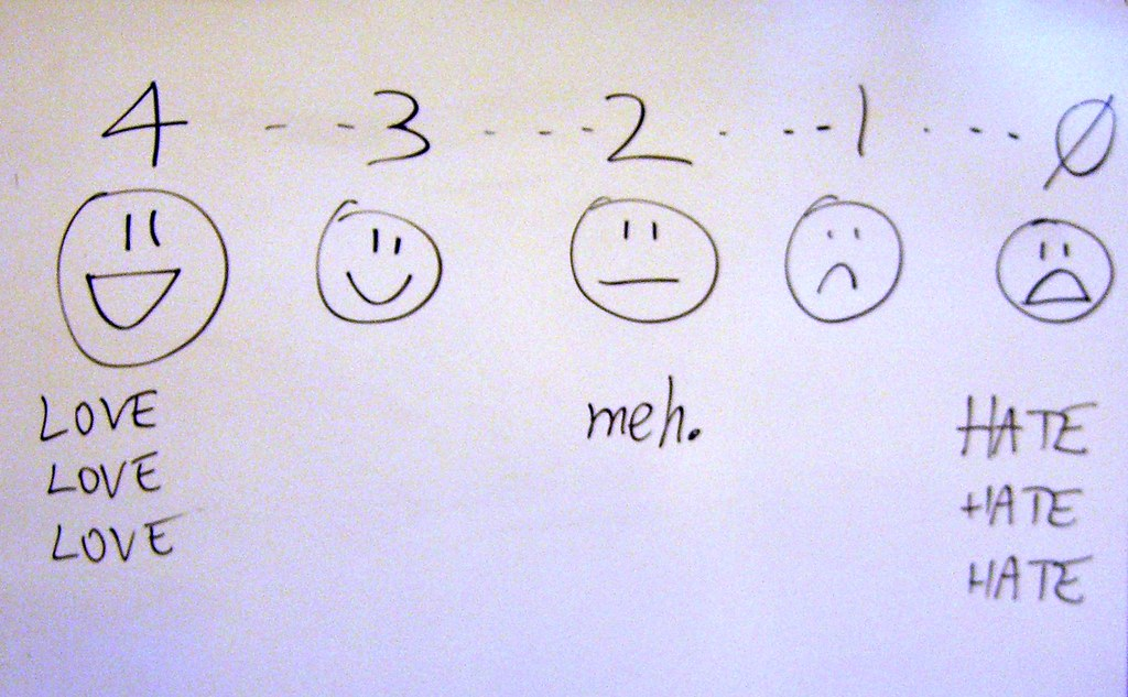 Evaluation scale