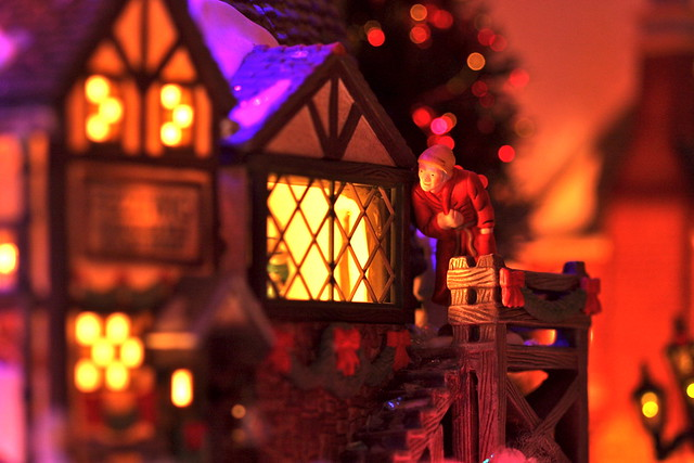 Scrooge and the Ghost of Christmas Past