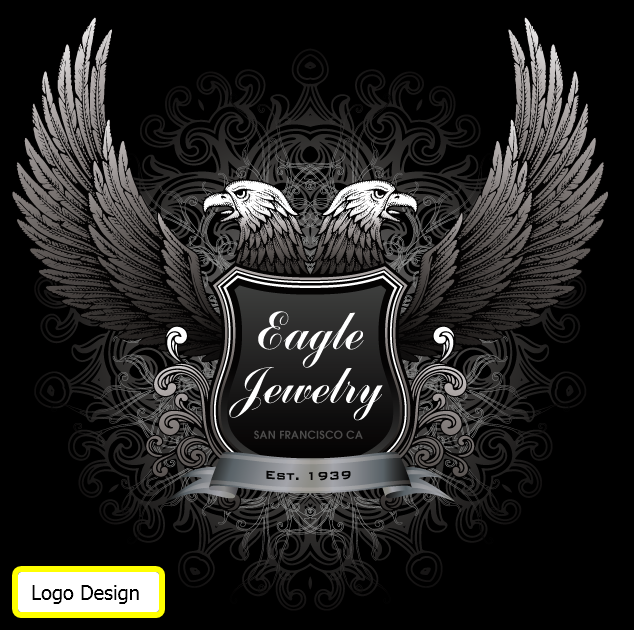 Eagle Jewelry Logo Design