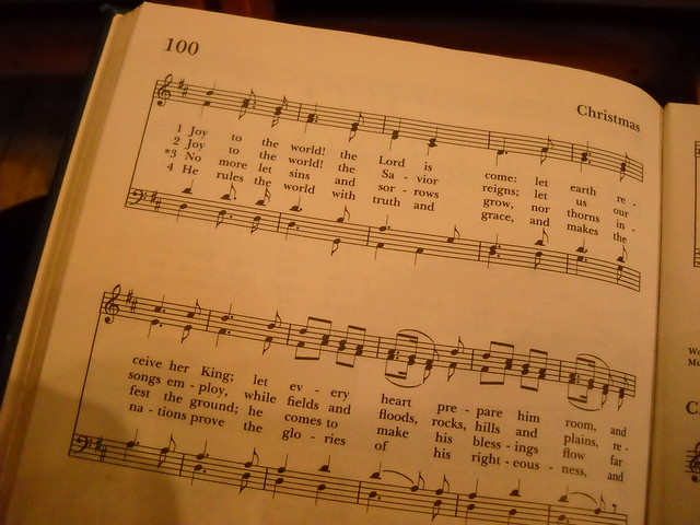 joy to the world hymn pdf