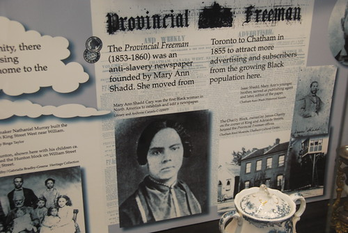 19th Century abolitionist Mary Ann Shadd who founded the Provincial Freeman newspaper in Toronto, Canada in 1853. She relocated the publication to Chatham in 1855 to enhance sales and advertising. by Pan-African News Wire File Photos