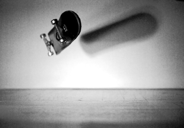 fingerboard kickflip without hand | Flickr - Photo Sharing!