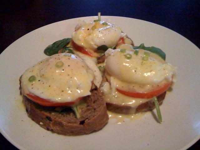 Vegetarian Eggs Benedict | Flickr - Photo Sharing!
