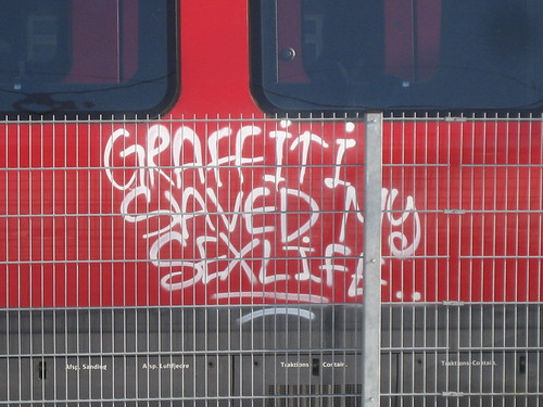GRAFFITI SAVED MY SEXLIFE..