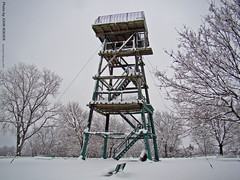 Observation tower, 6 Feb 2010