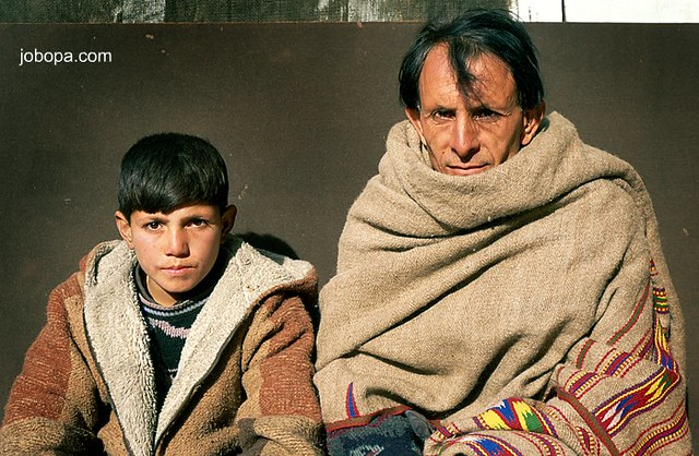 Father and son from Gilgit, Hunza, Pakistan