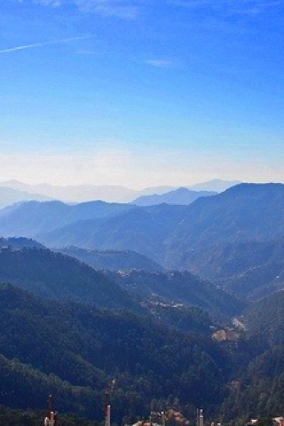 mountain shimla valley