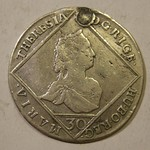 AUSTRIA-HUNGARY, MARIA THERESIA 1764 ---UNKNOWN DENOMIATION b
