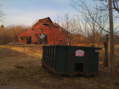 our new dumpster!!!