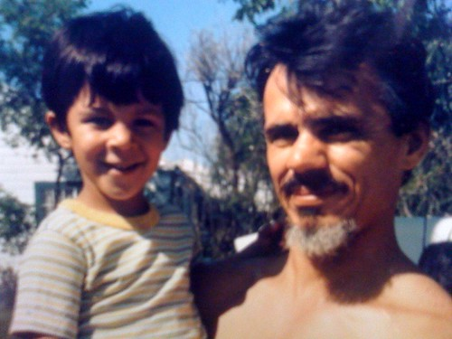 With my Dad c. 1983