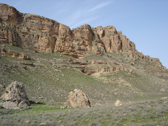 Rocky peaks between Ah Frah and Moulia, 2010