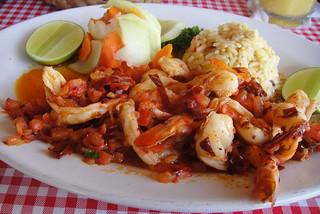 DSC01476 - day 6 taquila shrimp flambe