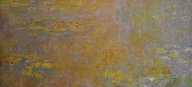 claude monet water lilies 1916 at tate modern gallery flickr photo