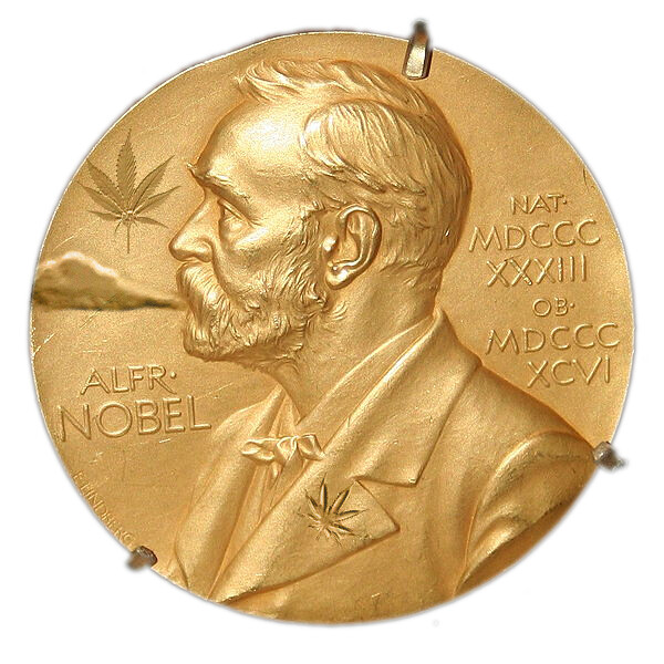 Nobel Prize for Legalizing Marijuana