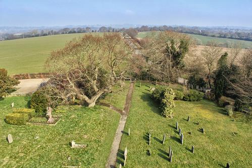 church graveyard lookingdown stmarys placeofworship warbleton larigan phamilton