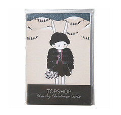 Topshop Christmas cards
