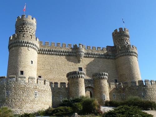El castillo de Manzanares El Real
