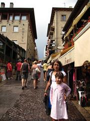 Tiendas de turistas
