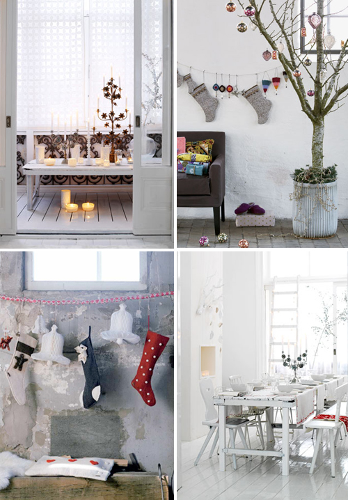 christmas inspiration the style files. Black Bedroom Furniture Sets. Home Design Ideas