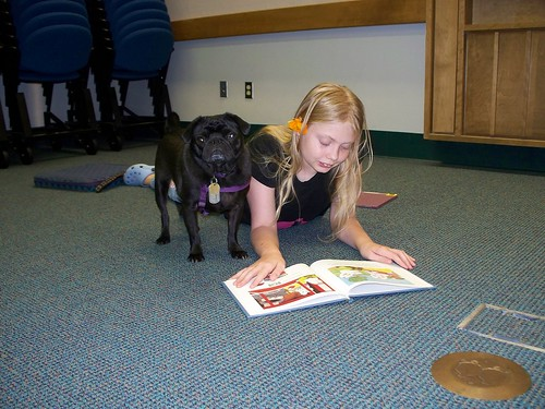 Read to the Dogs at ELPL