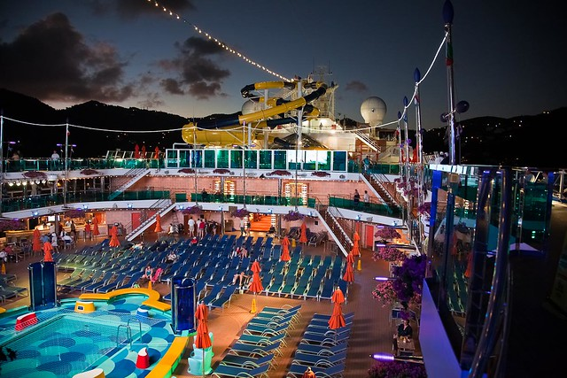 carnival dream waves pool explore carnival cruise lines