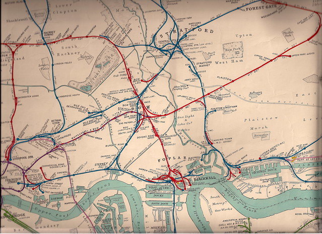 extract from the 1935 railway clearing house railway map