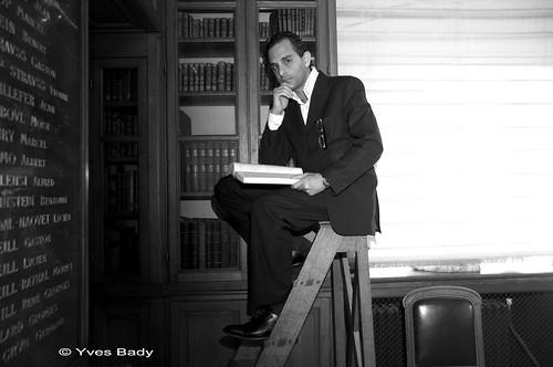 Arash Derambarsh à la Bibliothèque de l'Ordre des avocats (Palais de Justice de Paris)