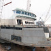 Lifting pilothouse onto Chetzemoka