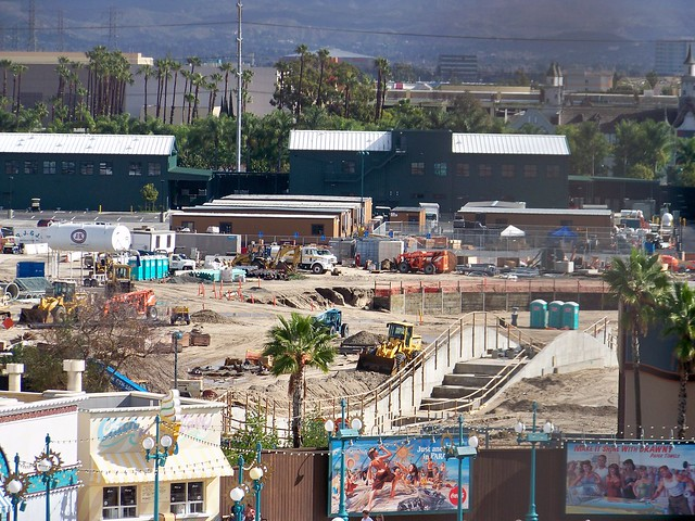 Progress on Cars Land (as of 1/23/10)