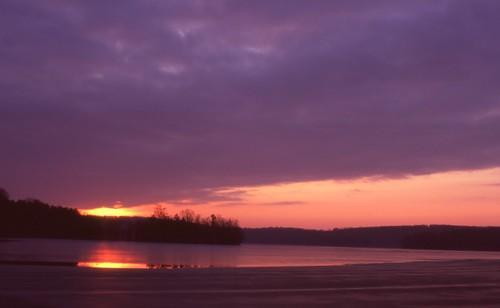 red orange lake reflection ice water forest sunrise geotagged iso100 woods purple maryland reservoir minoltaxd11 baltimorecounty fujivelvia straightoutofthecamera lochravenreservoir sooc mdwrokkor24mmf28 geo:lat=39461444 geo:lon=76583633