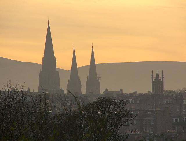 Sunset over Edinburgh #2