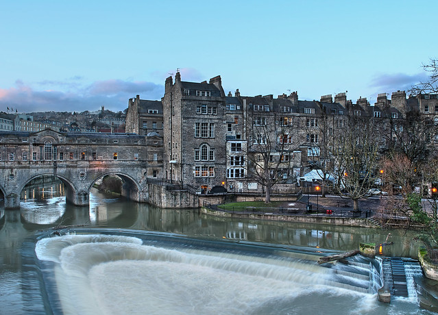 Bath Waterfall and Bridge HDR | Flickr - Photo Sharing!