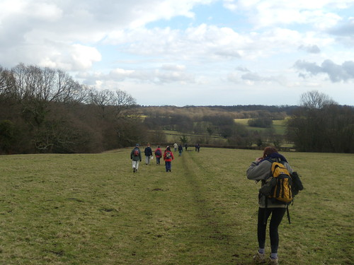 Into the valley of Burwash...