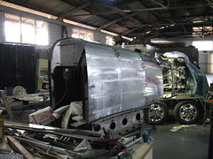 AHSNT B25 Tailcone Under Construction February 2007