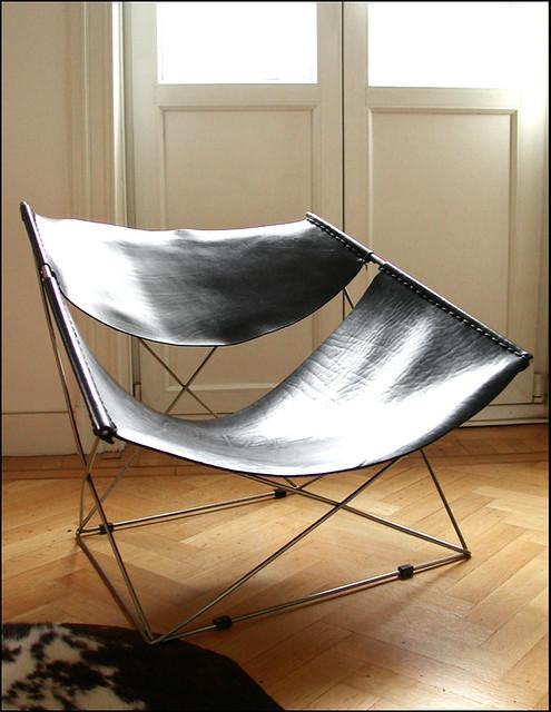 pierre paulin fauteuil f675 butterfly artifort 1963. Black Bedroom Furniture Sets. Home Design Ideas