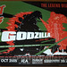 Godzilla UK quad - 1st ever UK release!