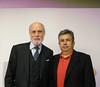 Vinton Cerf y Adolfo Plasencia